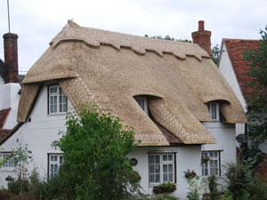 New Thatched Roof Completed By Master Thatchers