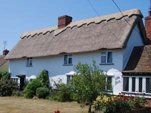 Re-ridge On Thatched Cottage